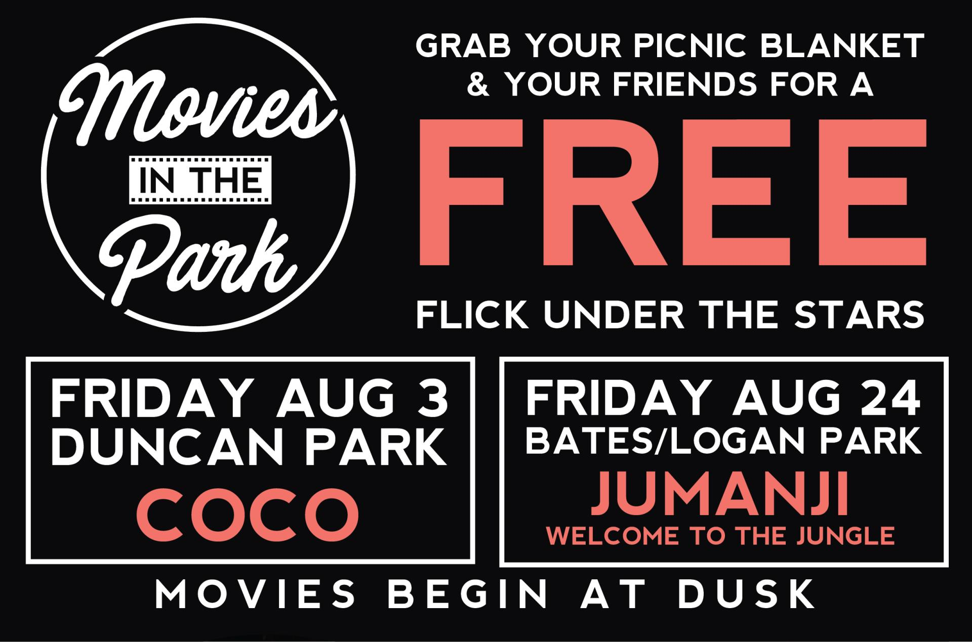 Movies in Park; Englewood parks;