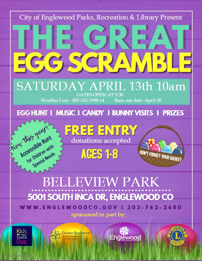 Egg Scramble Flyer 2019