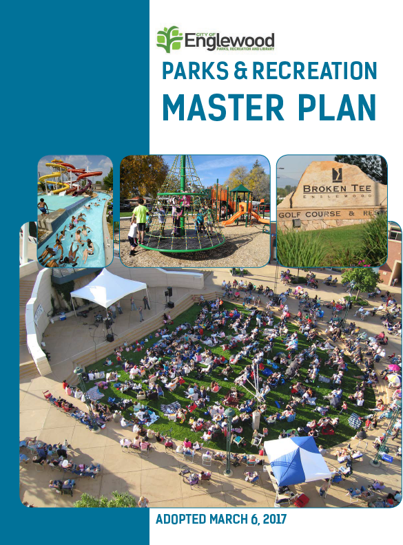 Cover Adopted P&R Master Plan