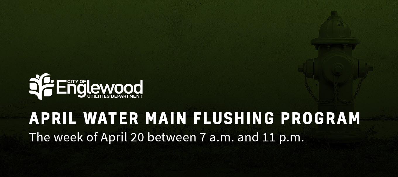 April Water Main Flushing Program