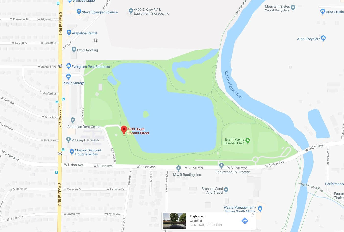 Centennial Park | City of Englewood, Colorado